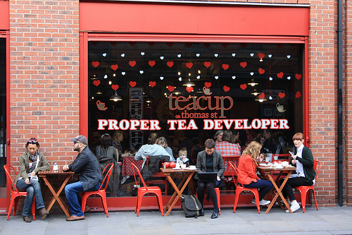 Manchester teacup
