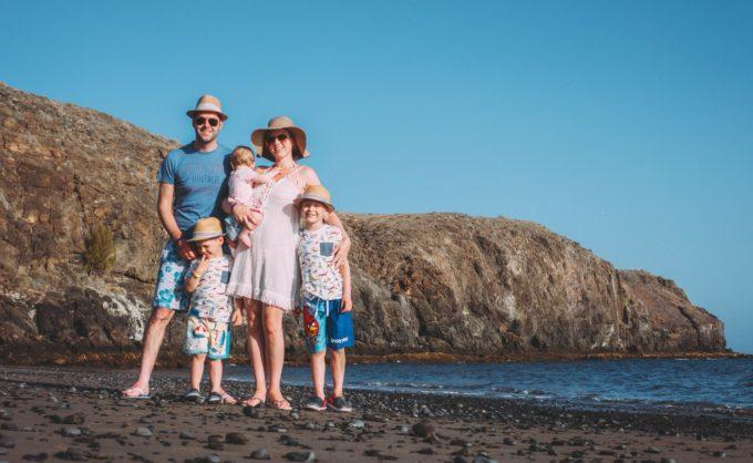 Family beach Lanzarote